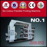 Six - Machine d'impression flexible de couleur