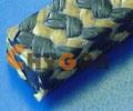간 Aramid (P1180)를 포장하는 PTFE 흑연