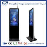 """43 """" LCD Fußboden, der Maschine bekanntmachend steht"""