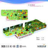 Крытая мягкая спортивная площадка игрушек для спортивной площадки малышей пластичной продавая деталь