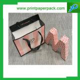 Kundenspezifisches Schmucksache-Form-Handtaschen-Einkaufen-Geschenk-kosmetischer Packpapier-Beutel