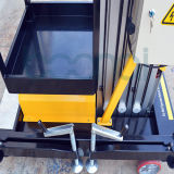 Einzelner Mast-Luftaufzug-Tisch für 4m