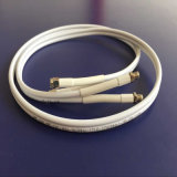 Câble coaxial de liaison de la qualité 50ohm (RG58-Twin)