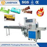 Machine à emballer automatique de palier de flux pour le tissu humide de chocolat