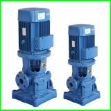 Pompe centrifuge d'acier inoxydable de l'eau à plusieurs étages verticale à haute pression de pompe