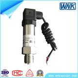 transmissor de pressão do aço 4-20mA inoxidável com conexão de Hirschmann