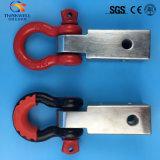 Dリングの連結器の受信機または受信機の手錠ブラケット