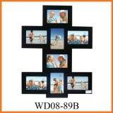 Богато украшенный деревянная Multi рамка фотоего, большой подарок (WD08-89B)