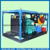 200bar大きい水流のディーゼル機関の下水管高圧水洗剤