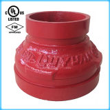FM/UL Certification를 가진 연성이 있는 Iron Grooved Concentric Reducer