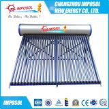 Цистерна с водой пробок Китая 20 Non-Pressurized солнечная