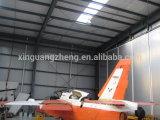 Capannone dei velivoli costruito acciaio prefabbricato flessibile del fascio dell'acciaio per costruzioni edili di disegno