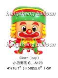 Воздушный шар шаржа клоуна (SL-A170)