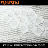 mini pequeña NFC RFID etiqueta engomada de 13.56MHz ISO14443A Ntag213