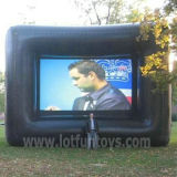 Projection posteriore Inflatable Cube Movie Screen per Advertizing