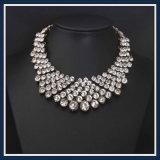 Ожерелье нового Jewellery способа камней стекла смолаы деталя установленное