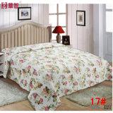 方法柔らかいパッチワークの綿のベッドカバー