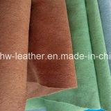 手袋Hw-854のためのスエードの革ファブリック