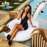 Sommer-Wasser-Spielwaren-aufblasbarer Pegasus-Pool-Gleitbetrieb