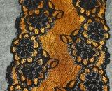 Cordón elástico de la flor del bordado del color múltiple de la alta calidad para la decoración