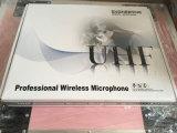 Микрофон UHF профессионала беспроволочный для напольного представления