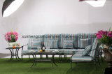 Стул клуба рукоятки Azusa установленной мебели литого алюминия напольный обедая левый