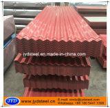 波形鉄板シートに屋根を付けるColorbond