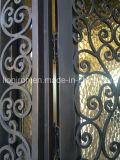 """ハンドメイドの72の"""" X 96 """"の錬鉄のドアの機密保護のドア"""