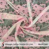 Levering voor doorverkoop van de Stof van het Kant van de polyester de Bruids (M1398)