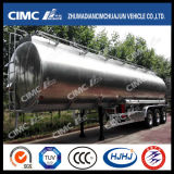 Cimc Huajun Aluminium Rotondo-Shape Fuel/Oil/Petrol/Gasoline Tanker con 1-6compartments