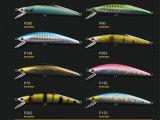 Insuficiência de pesca plástica (piragem potente de minnow 120mm)