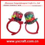 Cappello superiore del partito del cappello di natale della decorazione di natale (ZY14Y34-1-2 16CM)