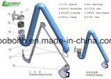 Bras flexible d'extraction de vapeur avec le support d'acier inoxydable avec le boyau de PVC