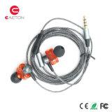 Trasduttori auricolari collegati metallo del Portable 3.5mm Earbuds con il pacchetto di Cuscom