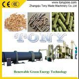 Linha de madeira de venda da pelota da biomassa da alta qualidade da certificação do GV do CE do tipo de Tony a melhor