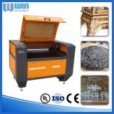 Petite machine de découpage acrylique en bois de cuir en métal de mini coupeur de laser
