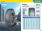 Neumático sin tubo 165/70r13 con alta calidad