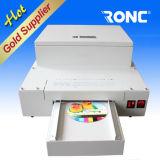Máquina de revestimento UV do petróleo lustroso de CD/DVD