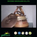 Nastri di legno della fascia di bordo dell'impiallacciatura del teck per i prodotti di Furmiture