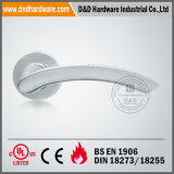 En1906 Solid Lever Handle auf Round Rose