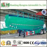 Tanker van het Cement van de Compressor van de Lucht van de Tank van de V-vorm de Bulk voor Aanhangwagen