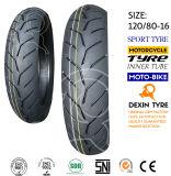 O sul da motocicleta do pneumático do esporte de América parte o pneu 130/70-16 da motocicleta do pneumático da motocicleta do velomotor