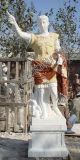 Высеканная каменная мраморный скульптура статуи цезаря для сада (SY-X1181)
