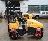 mini rouleau vibratoire hydraulique de compacteur de l'asphalte 1000kg (FYL-890)