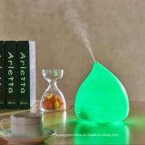 De het nieuwe Ultrasone Bamboe van het Ontwerp en Luchtbevochtiger van de Lucht van de Verspreider van Aromatherapy van het Glas