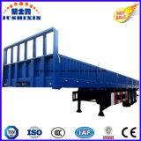 Pared lateral de la alta calidad 3axles/12tyres/acoplado utilitario de la cerca/del cargo del aparador semi