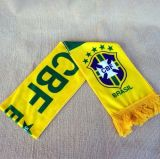 Дешевый шарф футбола печатание сатинировки полиэфира