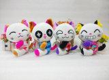 Игрушка плюша кота животных игрушки игрушки малышей мягким заполненная любимчиком