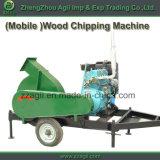 車輪が付いている移動可能なディーゼル機関主導のディスク快活な木製の砕木機