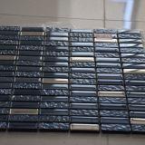 Mattonelle di mosaico di vetro Mixed del metallo del materiale da costruzione di alta qualità